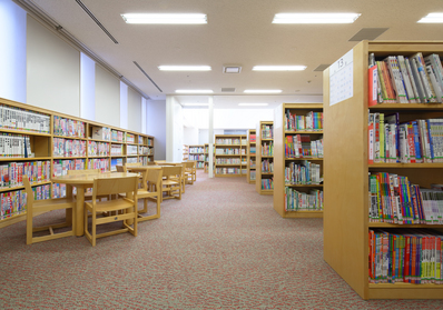 図書館 中原